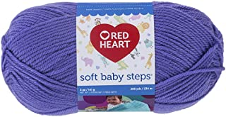 Red Heart Soft Baby Steps Yarn, Light Grape