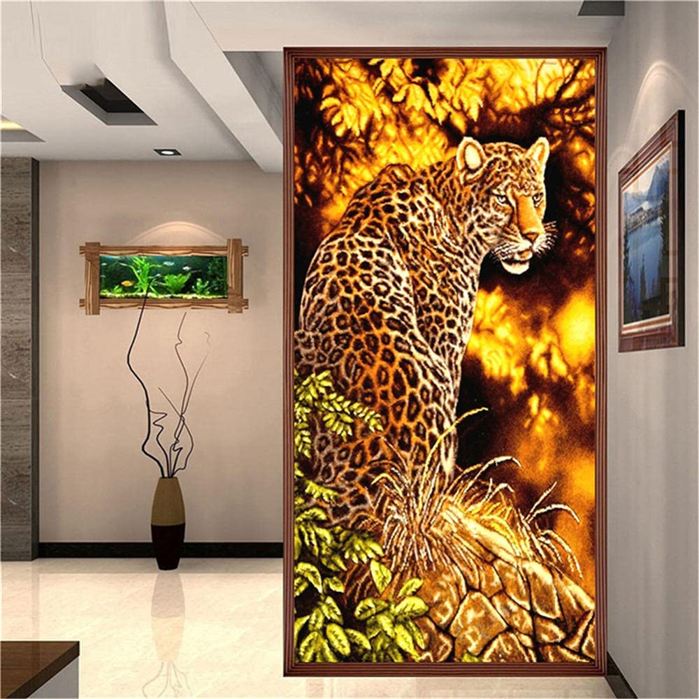 DIY 5D Recommended Diamond Painting Popular Kits for Leopard Animals Kids Adults Di
