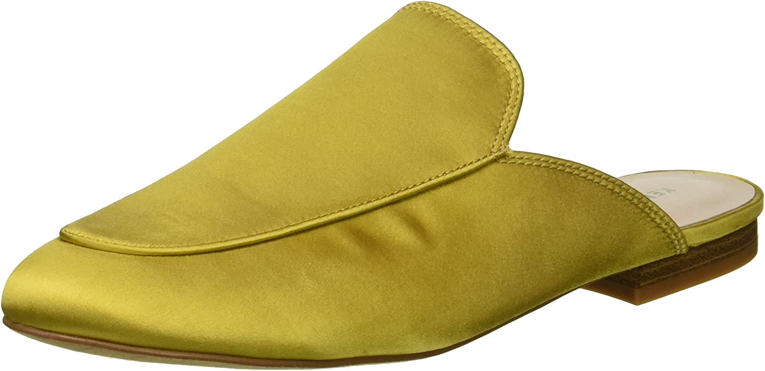 Kenneth Cole New York Womens Wallice Slip on Satin Mule Mule