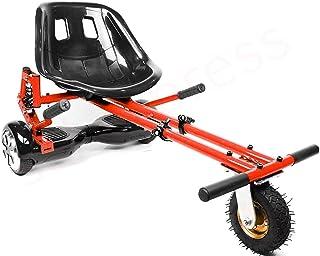 enyaa 2018 Modelo Ajustable Hoverkart con suspensión para 6,5 8 10 Pulgadas Hoverboard Accesorios Smart Electric Scooter Go Karting Kart para Adultos niños último Modelo más Seguro con suspensión