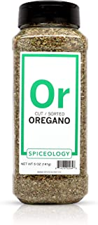 Mediterranean Oregano - Spiceology Dried Turkish Oregano Leaves - 5 ounce