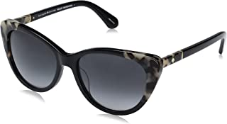 Kate Spade Women's Sherylyn/s Cateye Sunglasses, Black Havana/Dark Gray Gradient, 54 mm