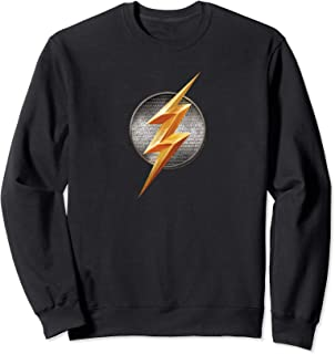DC Comics Justice League Movie Flash Emblem Sweatshirt