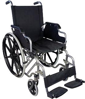 Mobiclinic, Giralda, Silla de ruedas ortopédica, plegable, autopropulsable, para minusválidos y ancianos, reposapiés extra...