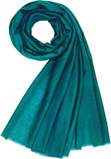 fuschia cashmere scarf