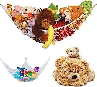 bbc3ba75e Hamaca de juguete grande de malla de peluche suave para bebés, dormitorio,  guardería,