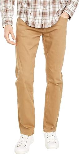 Marcus Slim Straight Leg in Latte Comfort