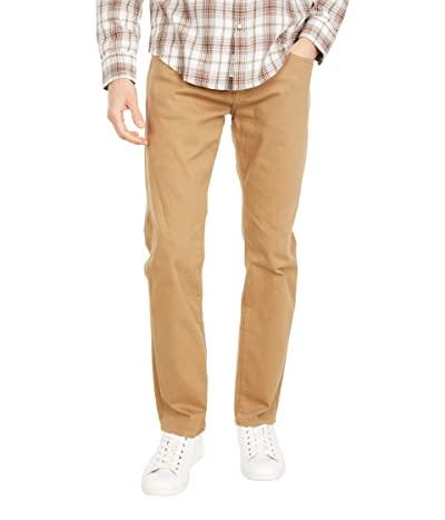 Mavi Jeans Marcus Slim Straight Leg in Latte Comfort (Latte Comfort) Men