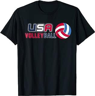 volleyball flag shirt