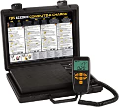 CPS CC220EW Compute-A-Charge 220lb/100kg Semi-Programmable Compact Refrigerant Scale, Bluetooth