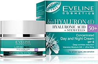 Biohyaluron 4d Concentrated Face Day and Night Cream 50 for All Skin Types, Also Sensitive Deep Wrinkles Reduction 50 Ml