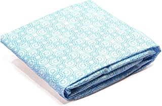 Bloom Fitted Alma Max and Retro Lollipop Sheets, Bermuda Blue