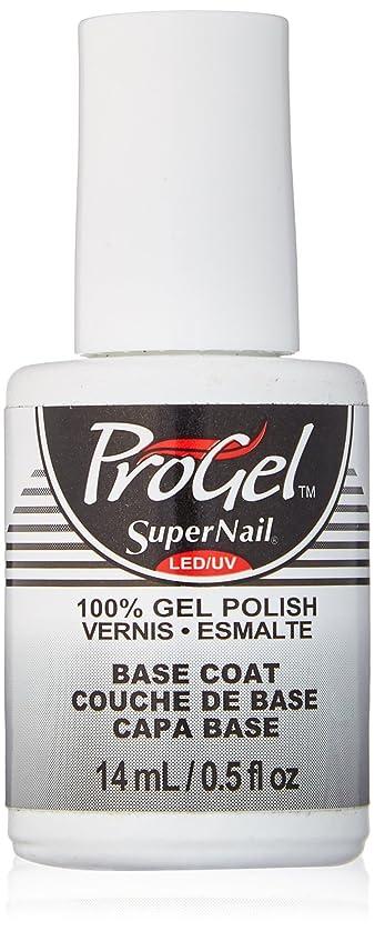 求人シンカンシフトSuperNail ProGel Gel Polish - Base Coat - 0.5oz/14ml