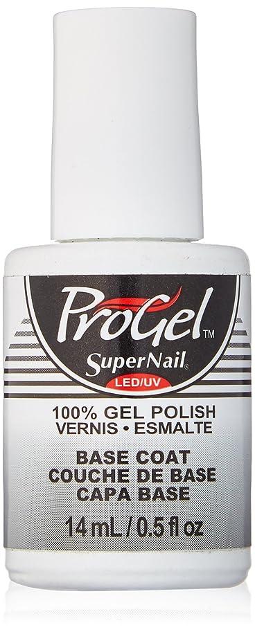 セットアップ辛な過敏なSuperNail ProGel Gel Polish - Base Coat - 0.5oz/14ml