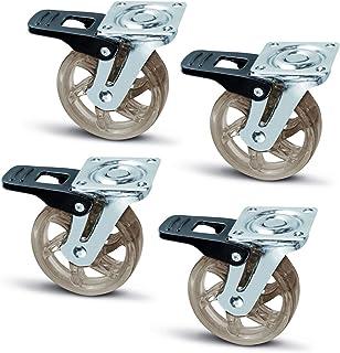 Amazon.es: ruedas para muebles - 4 estrellas y más