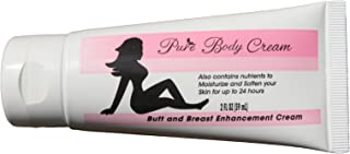 PureBody Cream | Butt and Breast Cream - The #1 and Only Butt and Breast Growth Formula Cream - Plus All-Natural Moisturizer for Soft, Silky, Smooth Skin (30 Day Supply)