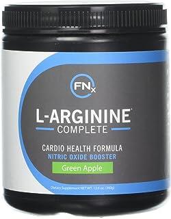 Fenix Nutrition L-Arginine Complete, Green Apple - 5000mg L Arginine, Nitric Oxide Booster, Natural Supplement, Increases ...