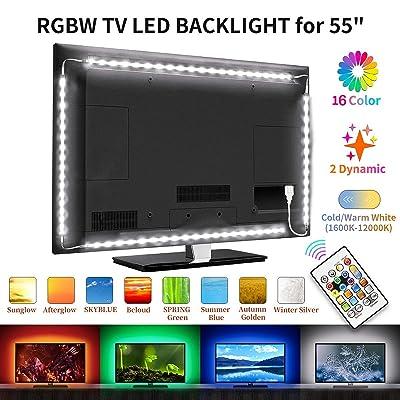 LED TV Backlight- Bason Upgrade Warm/Cold White...