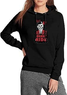 The-Misfits-Ride-Johnny-Ride-Print- Crew Printed Hoodie Best Sweaters