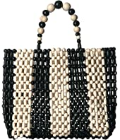 Alice + Olivia - Zoey Wooden Beaded Bag