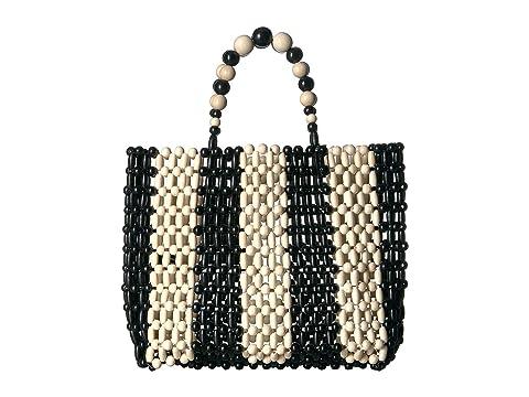 Alice + Olivia Zoey Wooden Beaded Bag