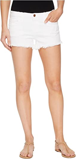 Blank NYC - Cut Off Shorts in Great White