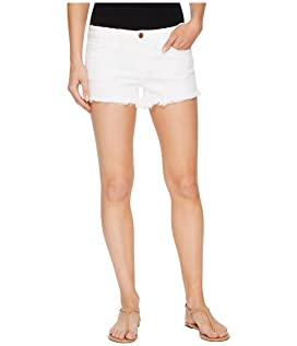 Cut Off Shorts in Great White
