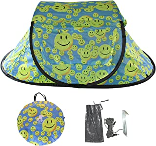 LAFAZ 2 Person Tent Glow in The Dark, Instant Automatic Pop Up Easy Opening Tents for Backpacking Camping