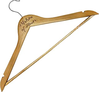 My Personal Memories Bridal Party Dress Hanger Gift Favors for Wedding, Bride, Bridesmaid, and More (Matron of Honor)
