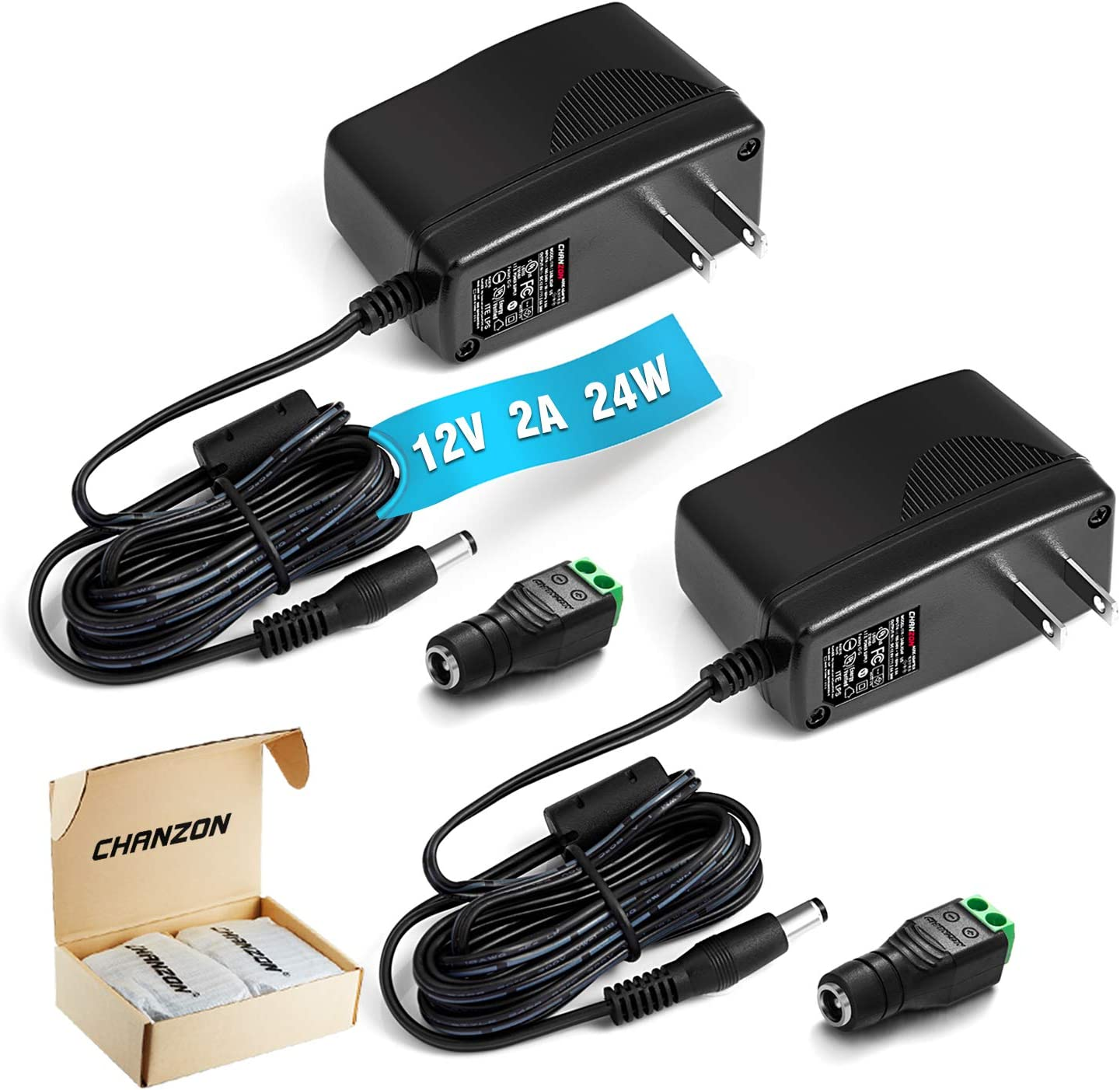 New arrival UL Listed Chanzon 12V 2A 24W Adap DC AC Power Don't miss the campaign Supply Switching