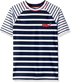 Hatley Boys' Short Sleeve Rash Guards