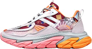 Mens Running Shoes Comfortable Sports Shoes Men Athletic Outdoor Cushioning Sneakers for Walking,Pink,42