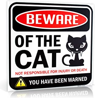 Best funny cat warning signs Reviews