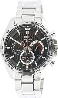 Seiko 5 Sports Men's Black Dial Silicone Automatic Watch - SRPC59J1