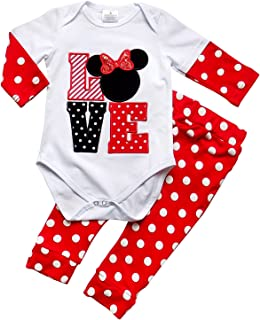 So Sydney Toddler Girls Minnie Fall Winter Long Sleeve 1-2 Pc Outfit Collection