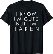 Sorry I'm Taken t shirt Boyfriend Girlfriend Taken Couples