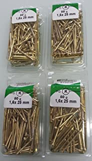 HSI Dekornägel 26 mm hellbraun 3 Päkchen Neu /& Ovp