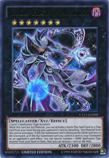 YU-GI-OH! - Ebon High Magician (CT13-EN004) - 2016 Mega-Tins - Limited Edition - Ultra Rare