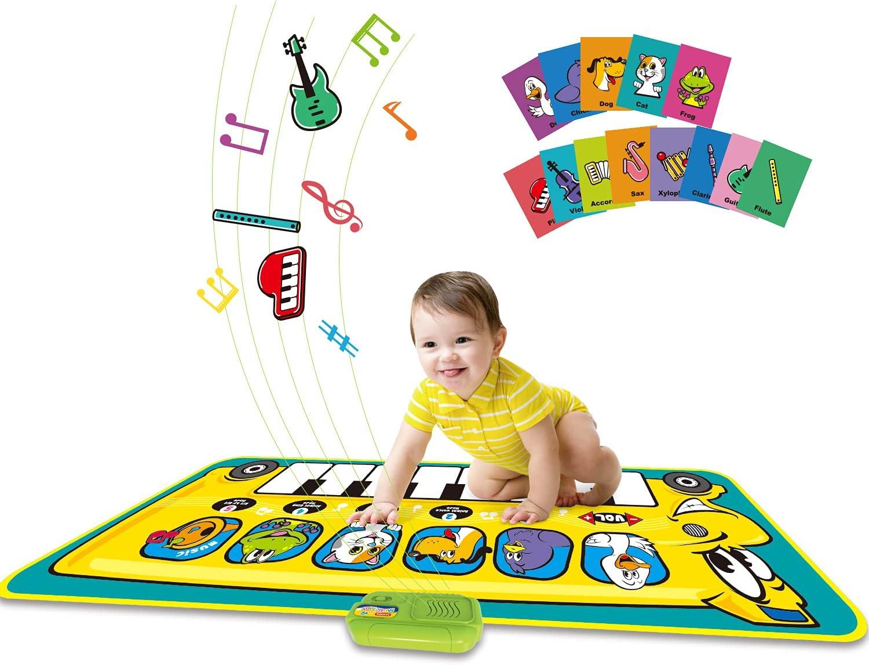 Kids Cheap SALE Start Musical Mats Music Piano online shopping Keyboard Dance Mat A Carpet Floor