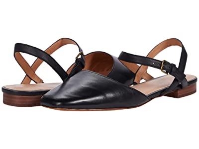 Madewell The Cecilia Flat in Leather