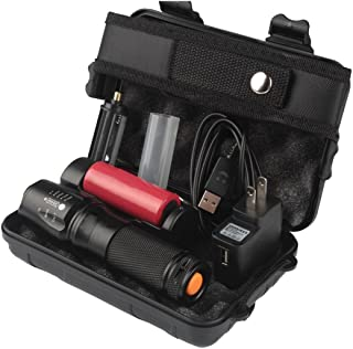 DBHAWK 6000lm Genuino Shadowhawk X800 Tactical Flashlight T6 LED Kit de antorcha militar