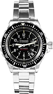 Watch WW194006BRACE-US GSAR Swiss Made Military Issue Diver's Automatic Watch with Tritium (41mm, Stainless Steel Bracelet, US Government)