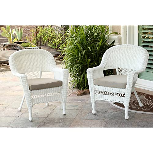 White Wicker Furniture Amazon Com