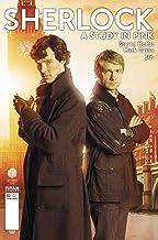 Sherlock: A Study in Pink #1 Benedict Cumberbatch & Martin Freeman Photo Cover B Manga Comic Book