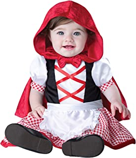 InCharacter Costumes Baby Girls' Little Red Riding Hood Costume, Red