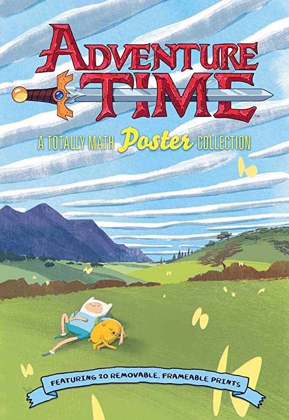 Adventure Time: A Totally Math Poster Collection (Poster Book): Featuring 20 Removable Frameable Prints