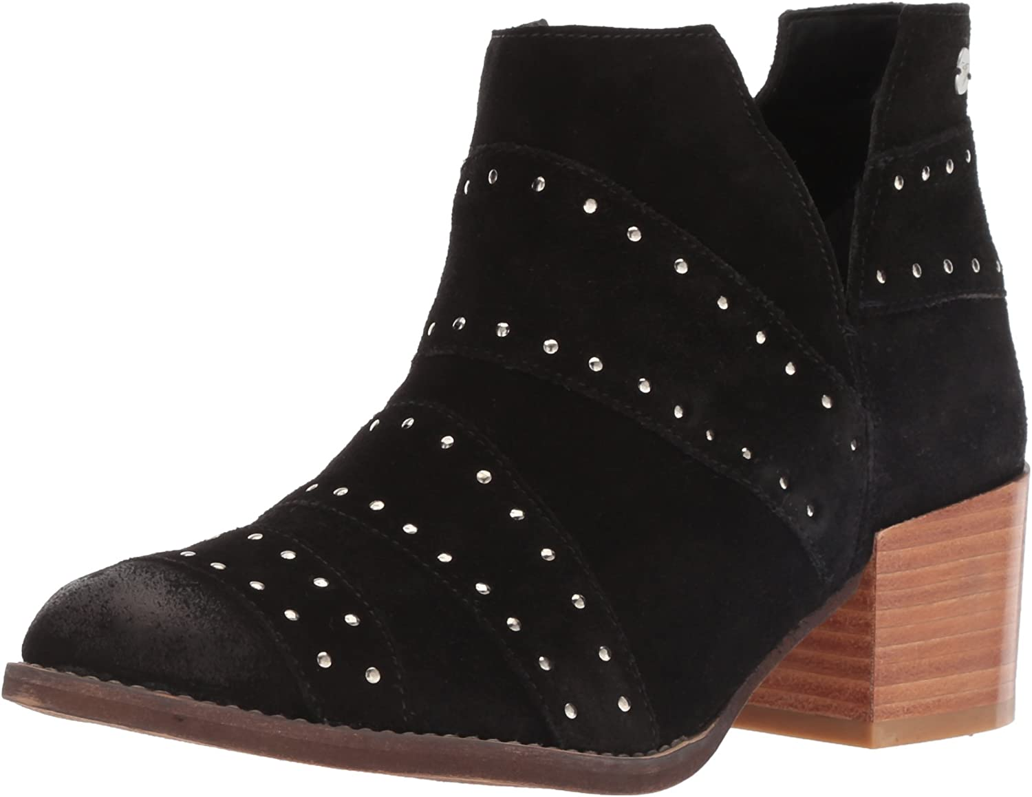 Roxy Womens Lexie Suede Fashion Boot Ankle Boot