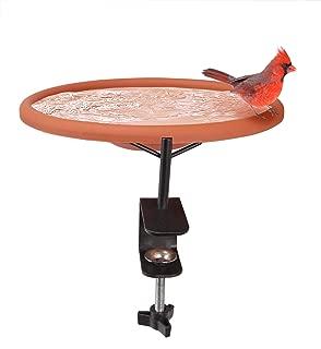 Best heated bird bath for deck railing Reviews