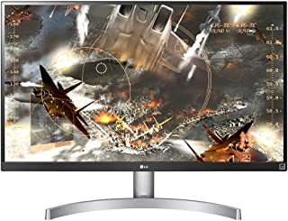 "LG 27UL600-W 27"" UHD 4K IPS Monitor, 5ms (GTG), HDMI, HDR, HDCP 2.2 Compatible, Radeon FreeSync, Screen Split, White"
