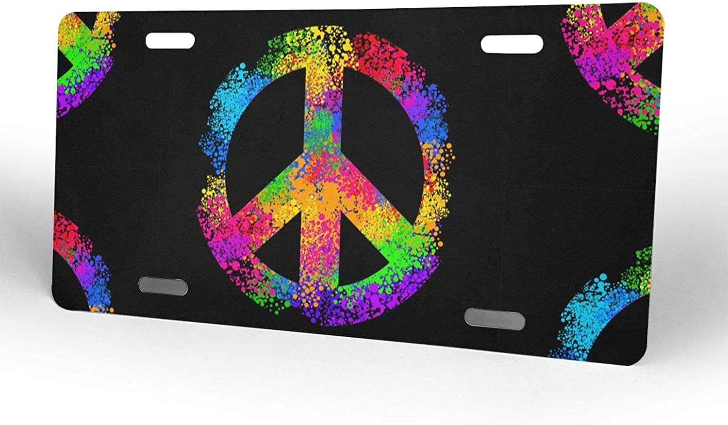 Luxury Victory Symbol License Plate Metal Cover Overseas parallel import regular item Novelty f